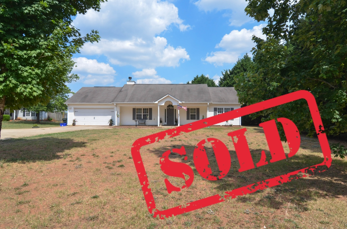 Just SOLD in Holliday Fields subdivision: 455 Callie Lane Statham GA 30666