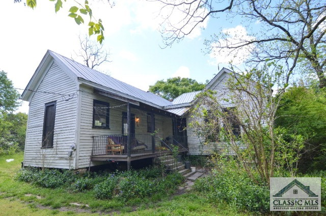 Farm house restoration project near Athens GA