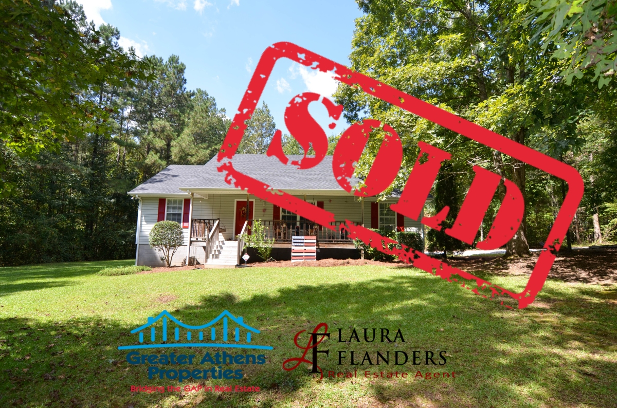 Just SOLD! 70 S Chaparral Ct Hull GA in Oak Bend Subdivision