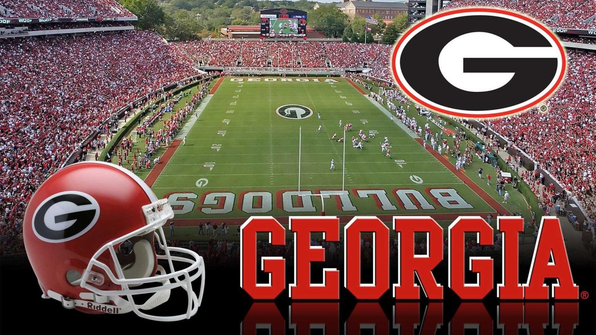 UGA 2017 Football Schedule Magnet